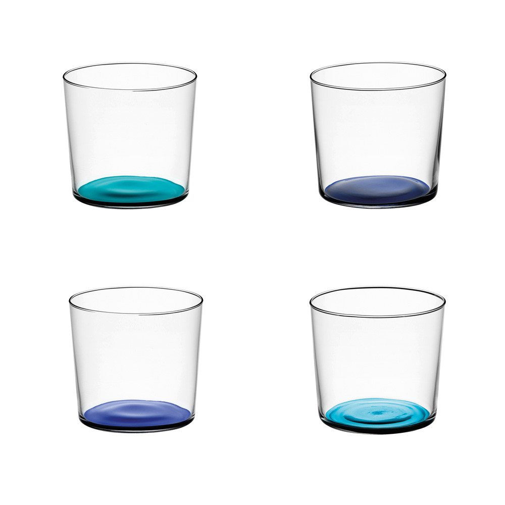 Coro glazenset van vier
