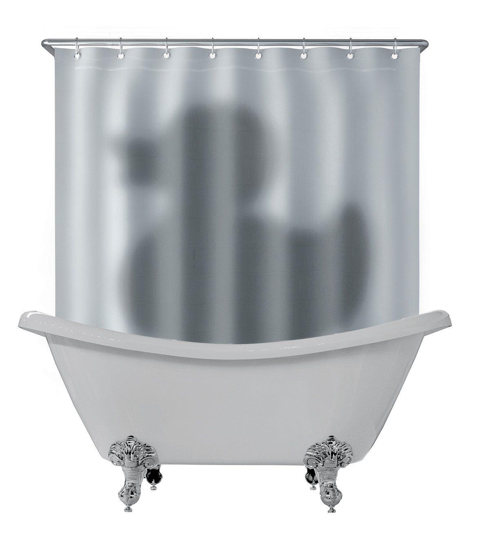 Douchegordijn reusachtige badeend