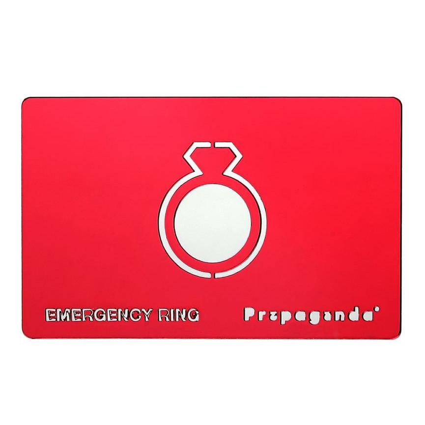 Emergency wedding ring