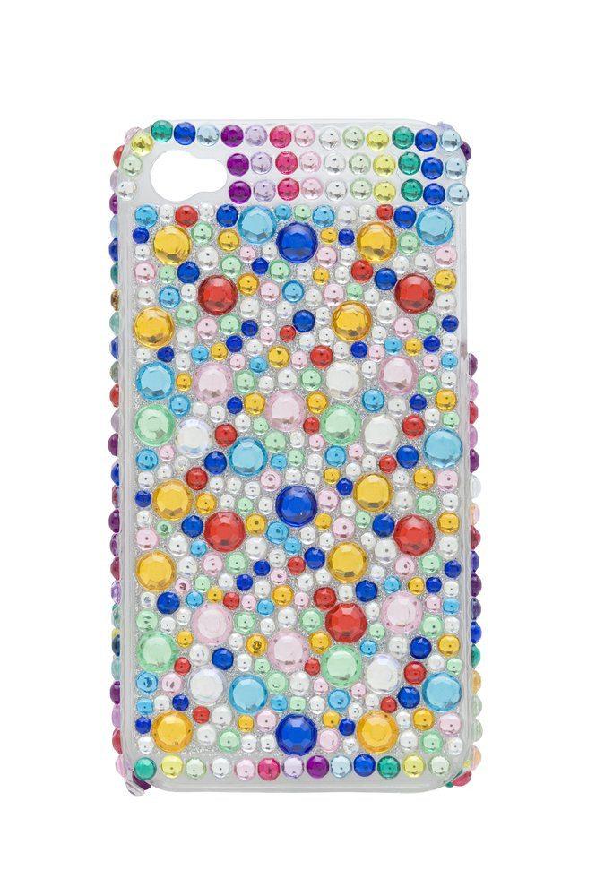 Extravagante telefoonhoesjes in strass look