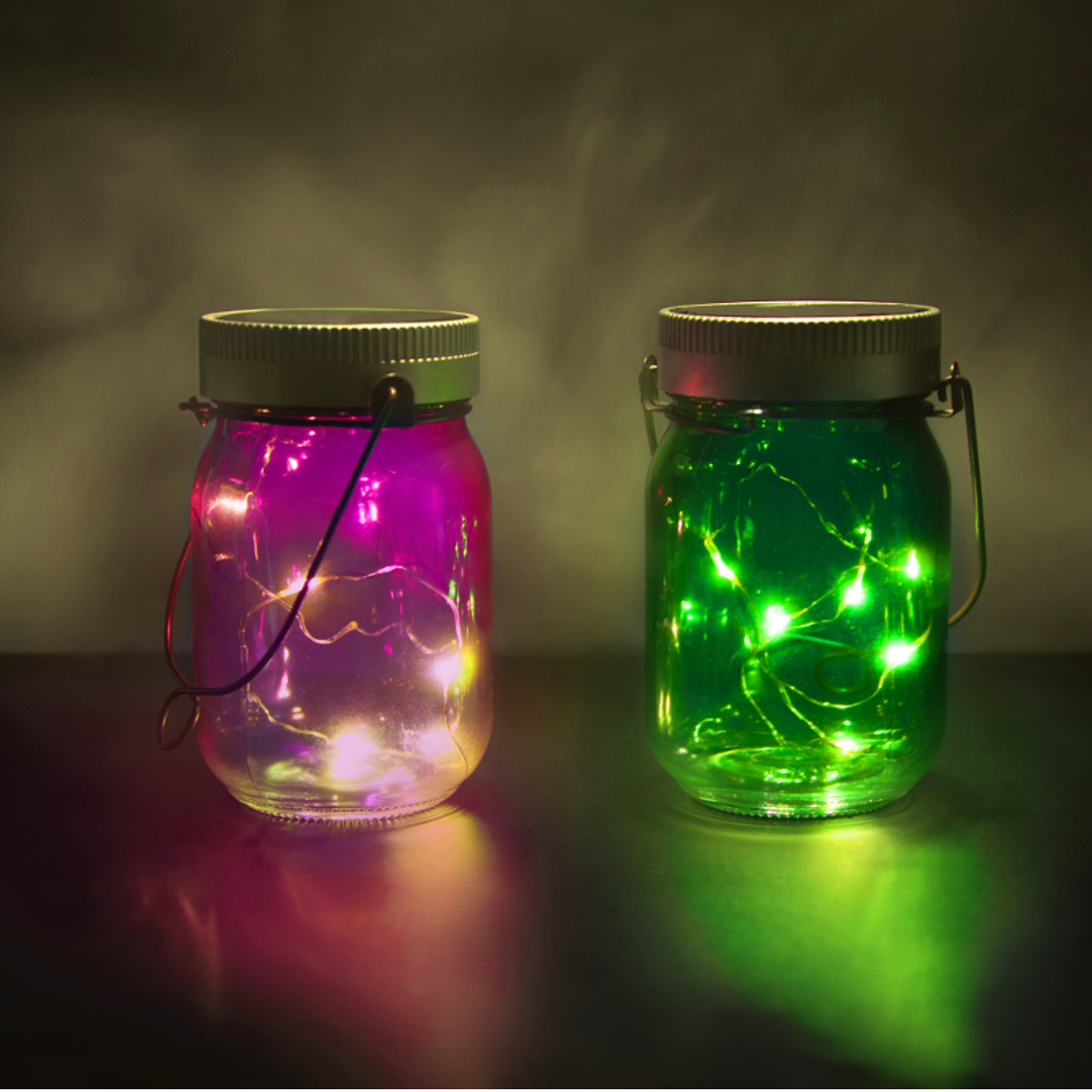 Fairy Jars - solarlampjes (set van 2)