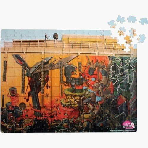 Graffiti puzzel
