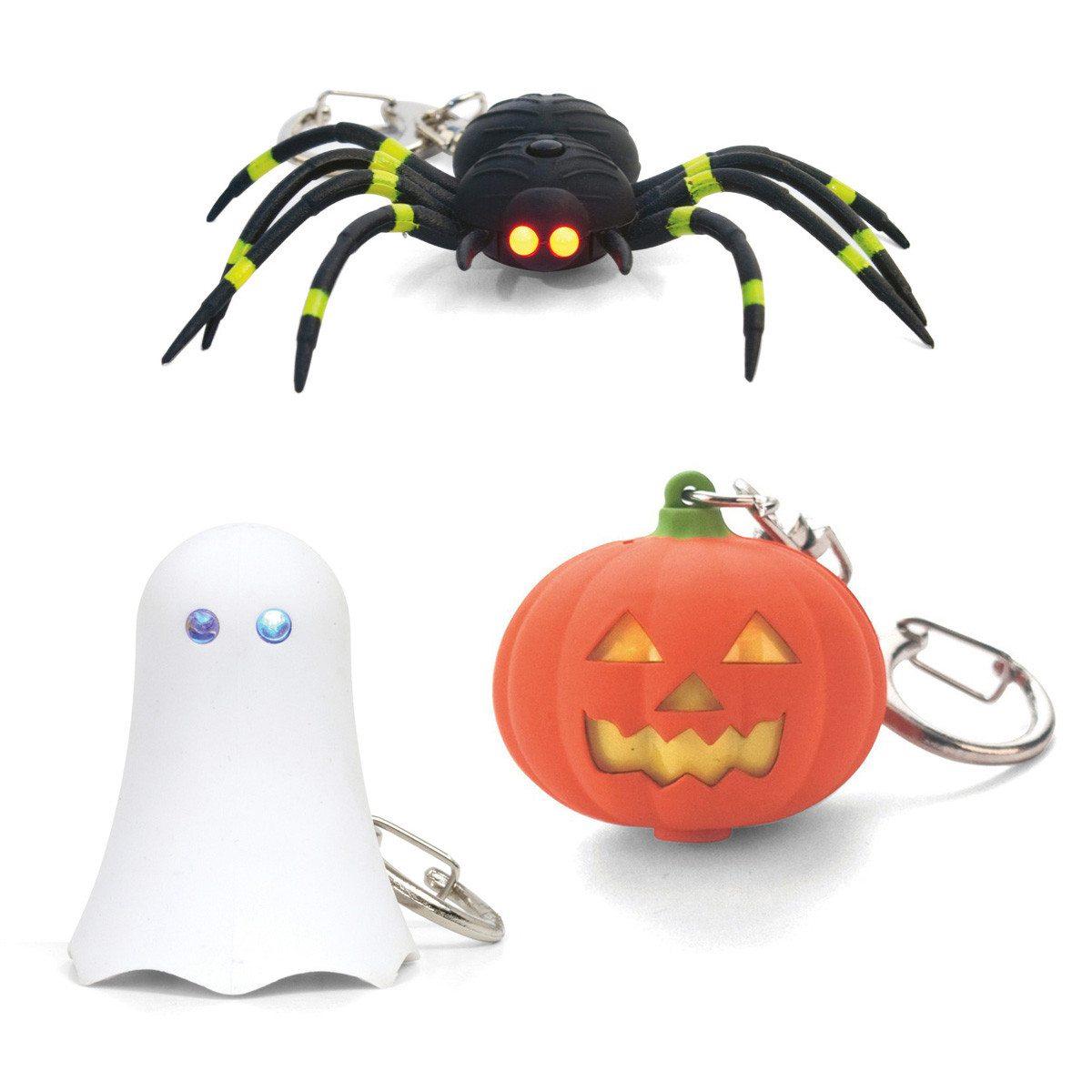 Griezelige LED-sleutelhanger