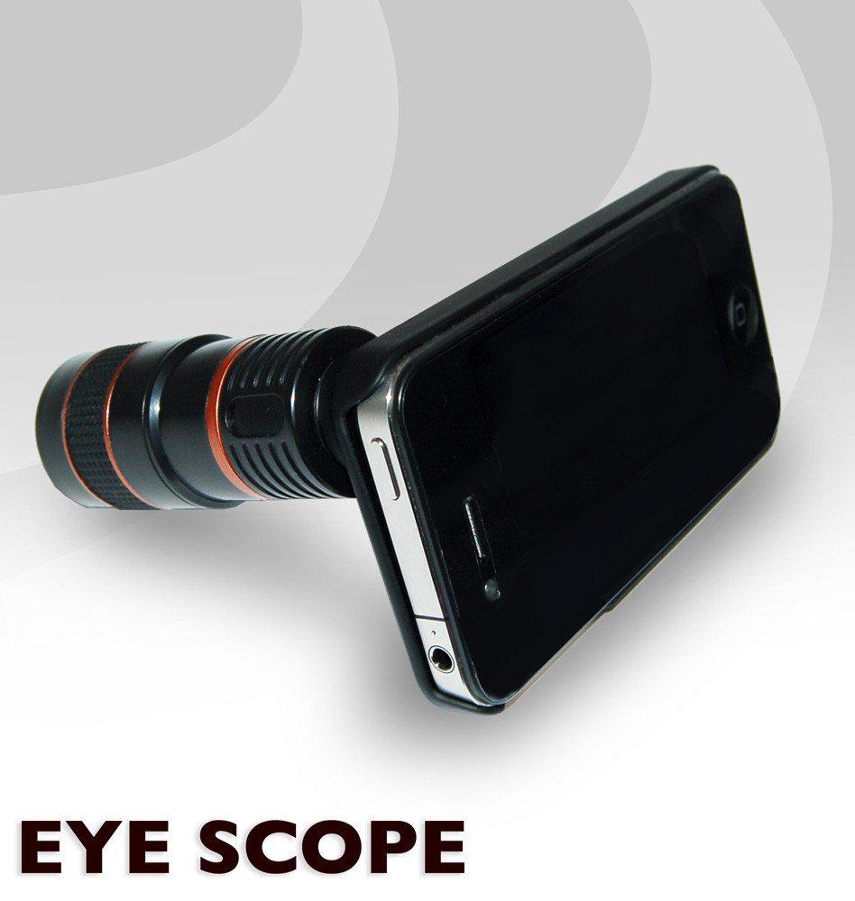 iPhone 4 objectief 8-maal zoom