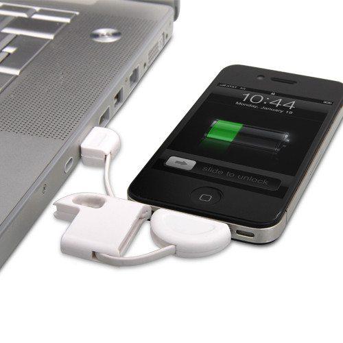 iPhone sleutelhanger oplaadkabel