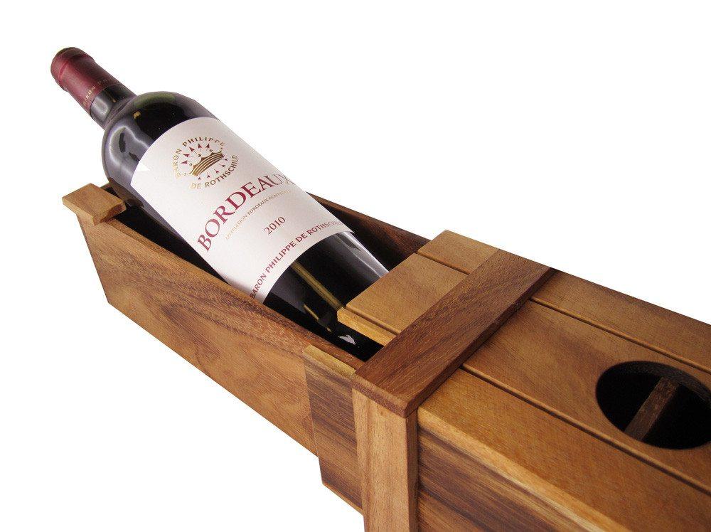 Magische wijngeschenkverpakking