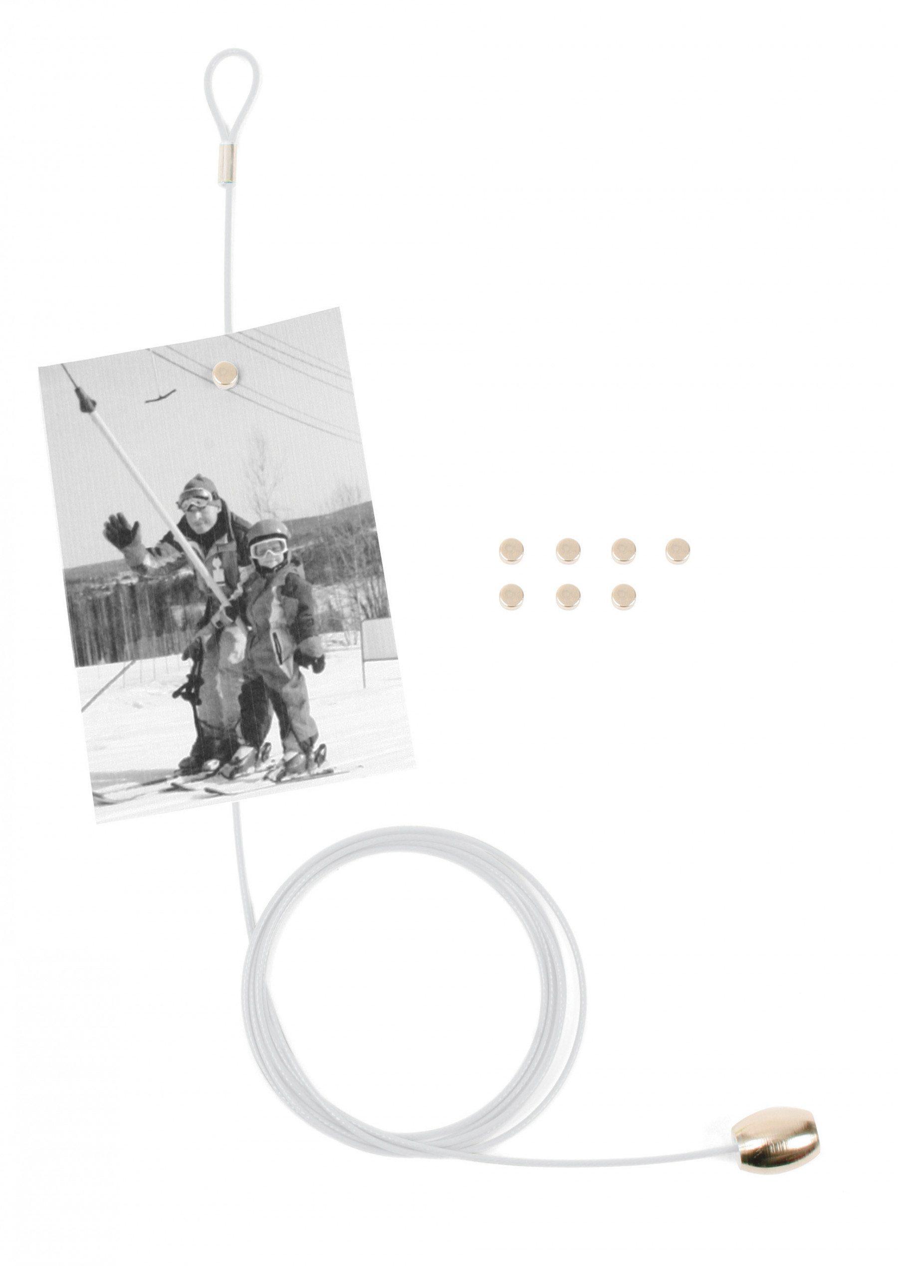 Magnetische fotohouder voor 8 foto's