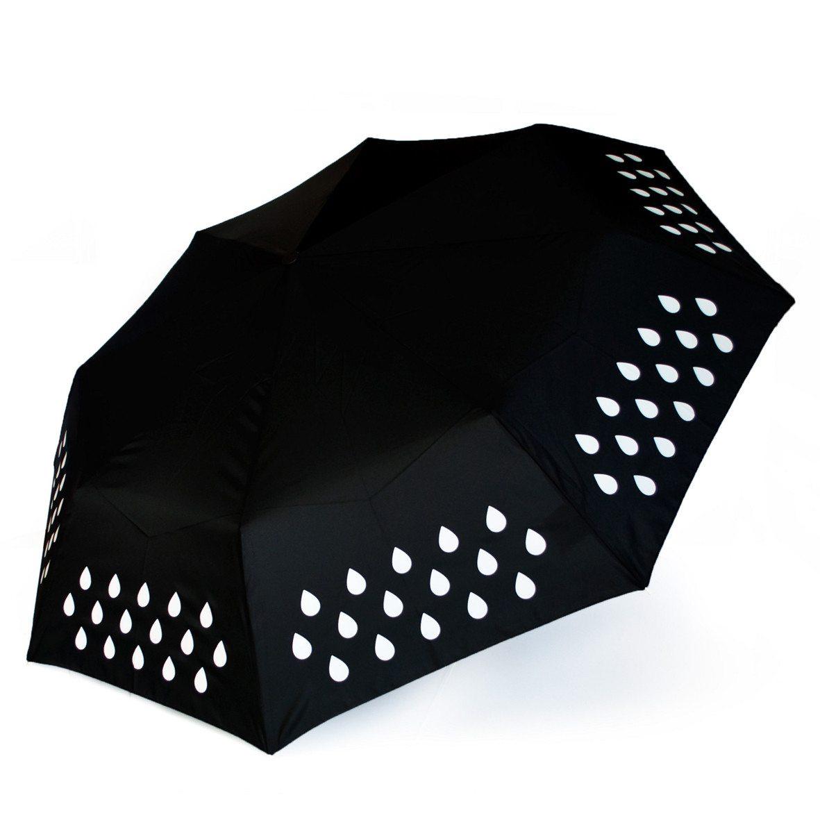 Paraplu die kleurt bij nattigheid