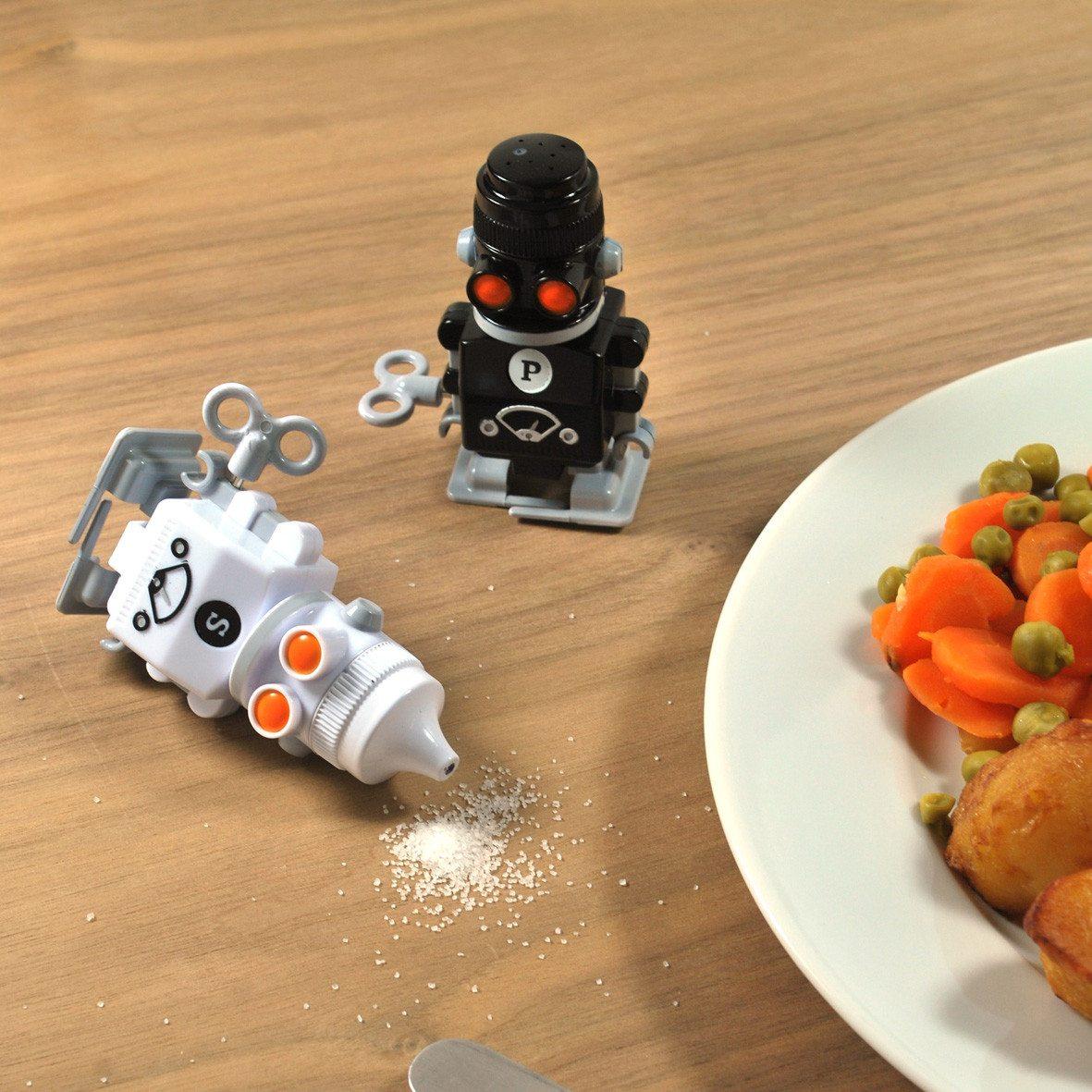 Peper- en zoutrobots