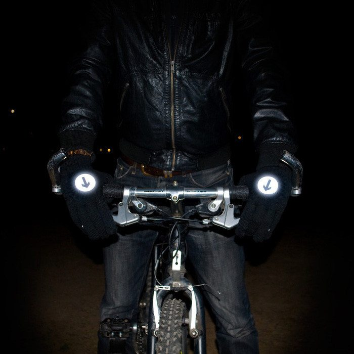 Reflecterende accessoires voor fietsers