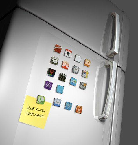 Smart koelkastmagneten