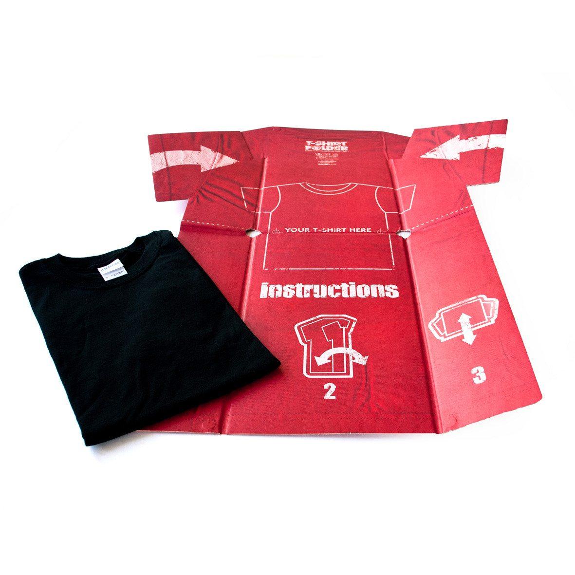 T-shirt vouwhulp