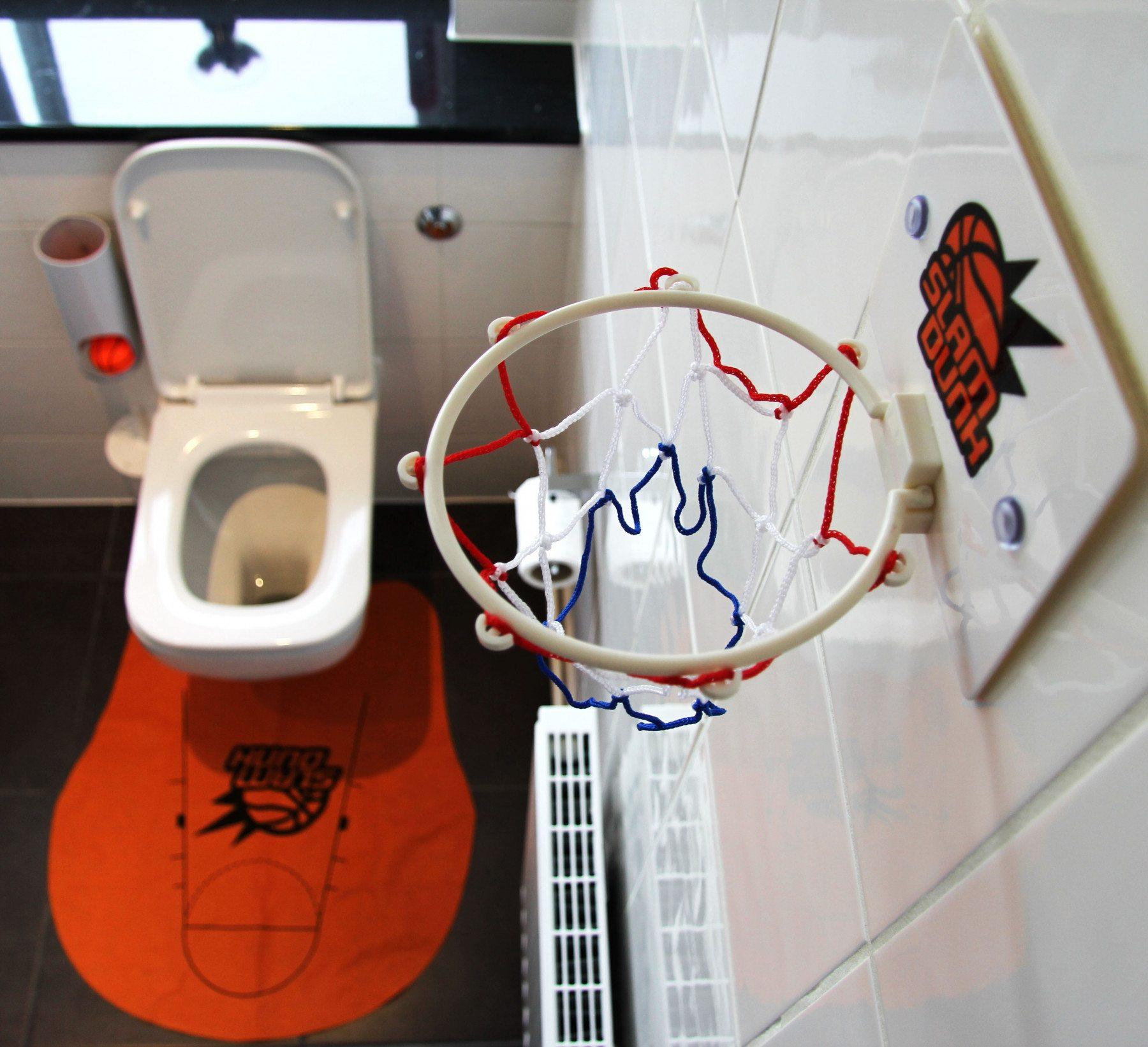Toiletbasketbalspel