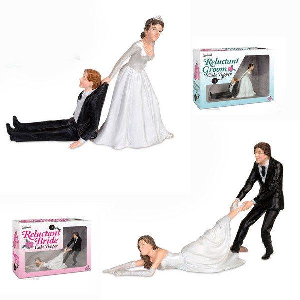Bruiloftsfiguren maar dan anders