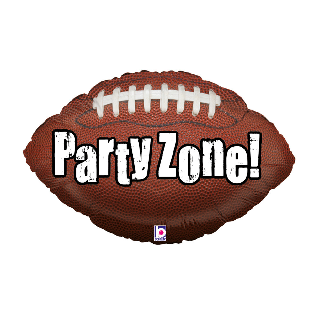 "Heliumballon: Football ""Party zone!"""