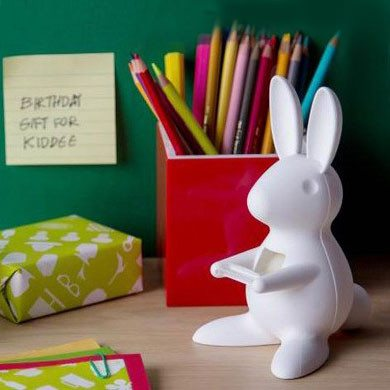 Plakbandhouder Desk Bunny