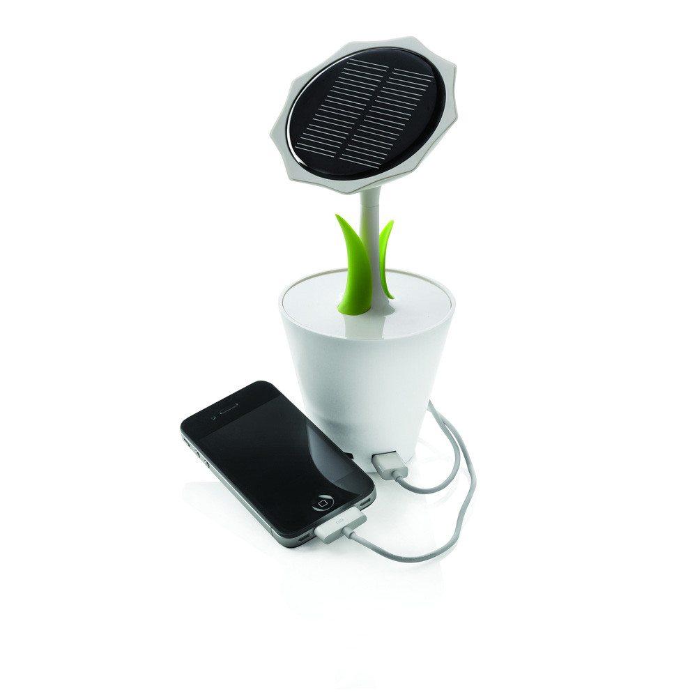 Solar charger zonnebloem
