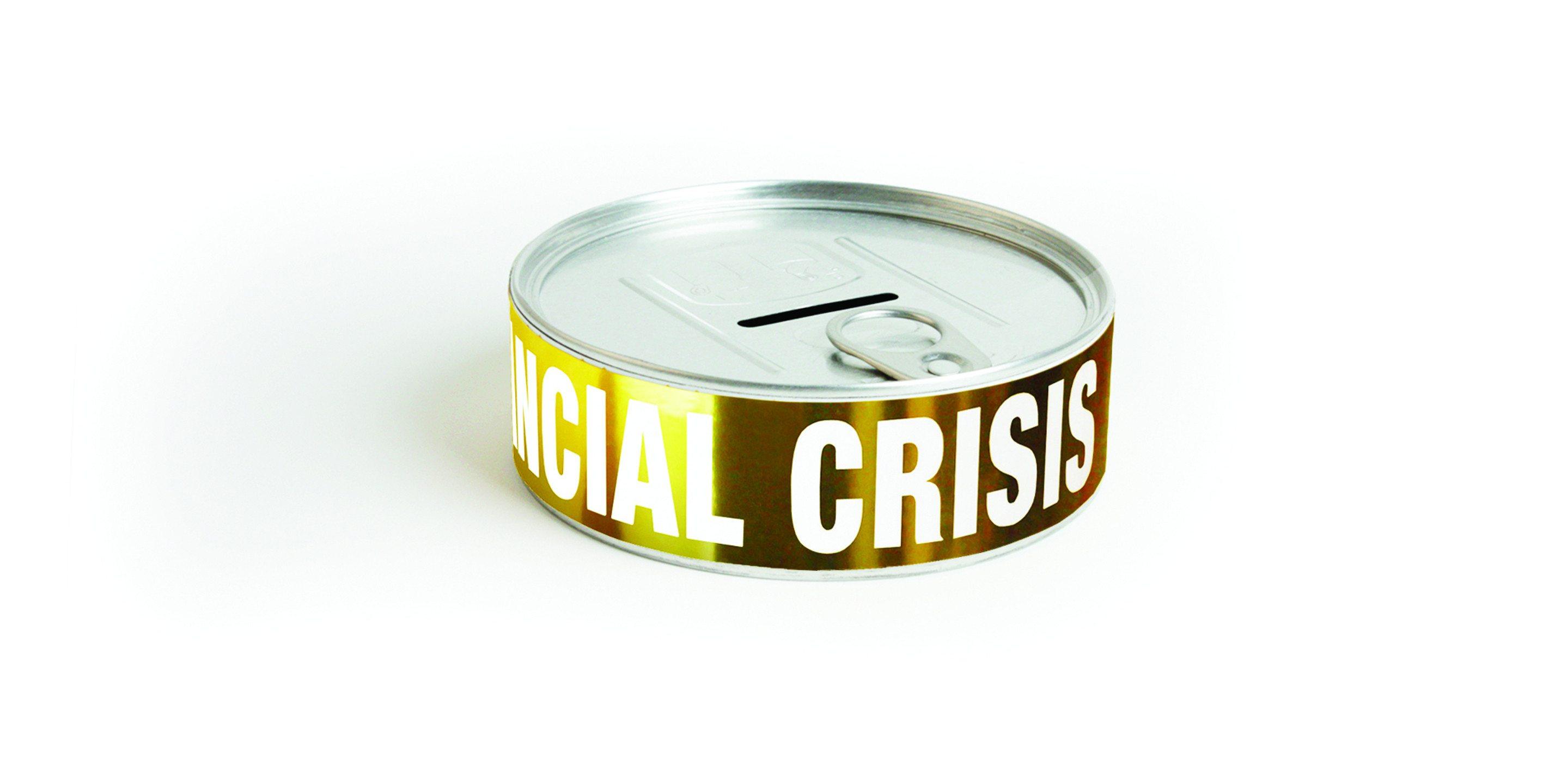 """Spaarpot """"Financiële crisis"""""""