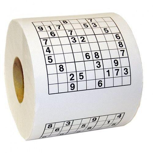 Sudoku-toiletpapier
