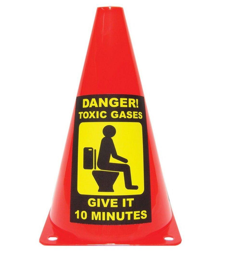 Waarschuwingspion voor giftige gassen
