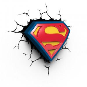 3D-lamp: Superman