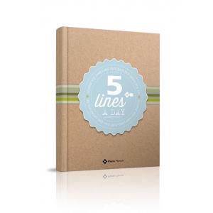 5 lines a day - Meerjarendagboek