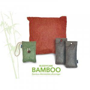 Bamboe luchtreiniger en geurstopper - voor grote en kleine ruimtes