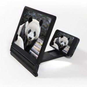 Beeldschermvergrootglas voor smartphone - voorkant