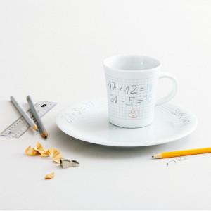 Beschilderbare ontbijtset