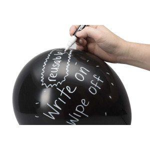 Beschrijfbare schoolbord-ballonnen - leuk voor feesten en partijen