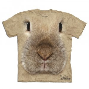 Big Face dieren T-shirt – Haas