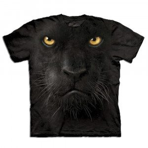 Big Face dieren T-shirt – Panter