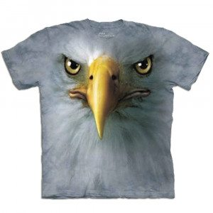 Big Face dieren T-shirts – Adelaar