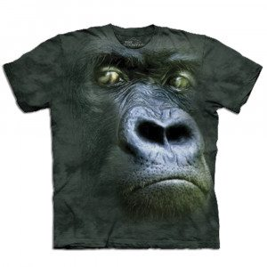 Big Face dieren T-shirts – Gorilla