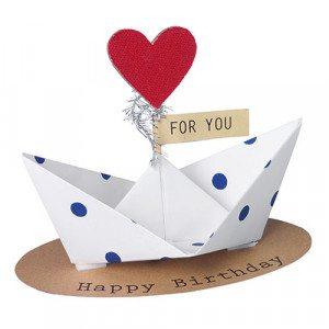 "Cadeauboot ""Happy Birthday!"""