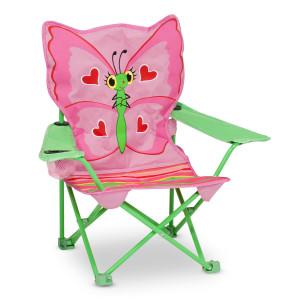 Campingstoel ''vlinder'' voor kinderen