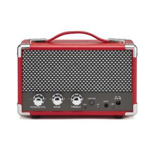 Compacte bluetooth-luidspreker -rood - smaakvolle details