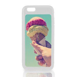 Cover voor iPhone 6 met eigen foto - wit
