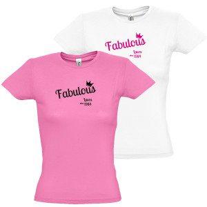 Dames T-Shirt Fabulous