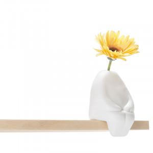 "Designvaas ""Flowerman"" zittend"
