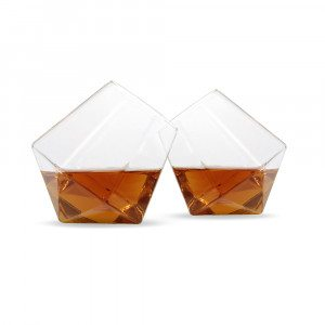 Diamantvormige Whiskyglazen set