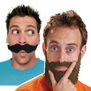 DIY – baard en snor om zelf te breien