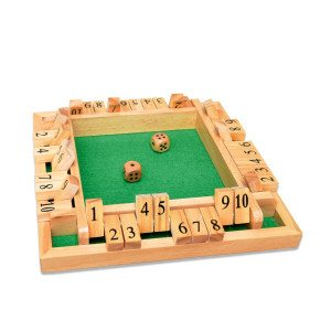 "Dobbelspel ""Shut the Box"" – Deluxe Uitgave"