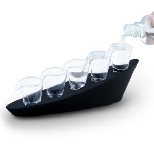 Domino shots – shotset met vijf glazen