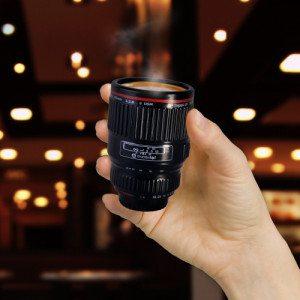 "Espressokopje ""Camera objectief"""