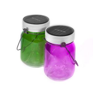 Fairy Jars - solarlampjes (set van 2)