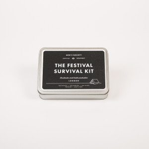 Festival-survival-kit voor mannen