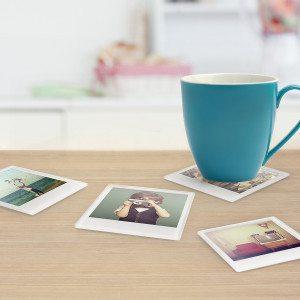 "Foto-onderzetter ""Polaroid"""