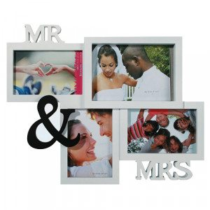 """Fotolijst """"Mr. & Mrs."""""""