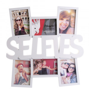 Fotolijst voor 6 selfies